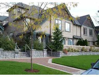 """Photo 1: 11 222 E 5TH Street in North_Vancouver: Lower Lonsdale Townhouse for sale in """"BURHAM COURT"""" (North Vancouver)  : MLS®# V698484"""