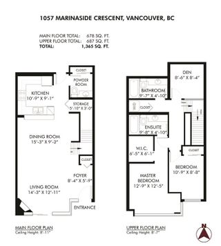 Photo 21: 1057 MARINASIDE Crescent in Vancouver: Yaletown Townhouse for sale (Vancouver West)  : MLS®# R2489973