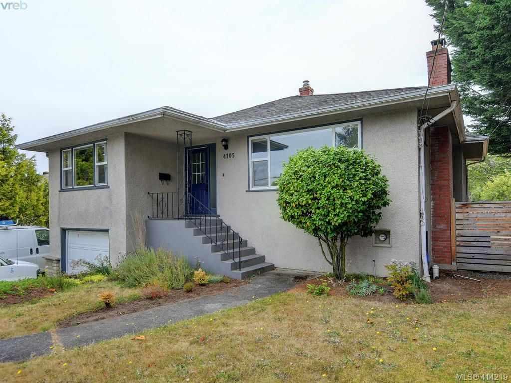 Main Photo: 4105 Glanford Ave in VICTORIA: SW Glanford House for sale (Saanich West)  : MLS®# 821592