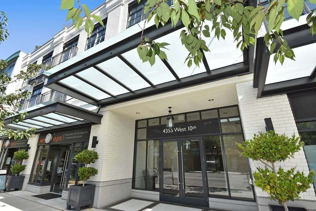 Main Photo: 306 4355 W 10TH AVENUE in Vancouver: Point Grey Condo for sale (Vancouver West)  : MLS®# R2084869