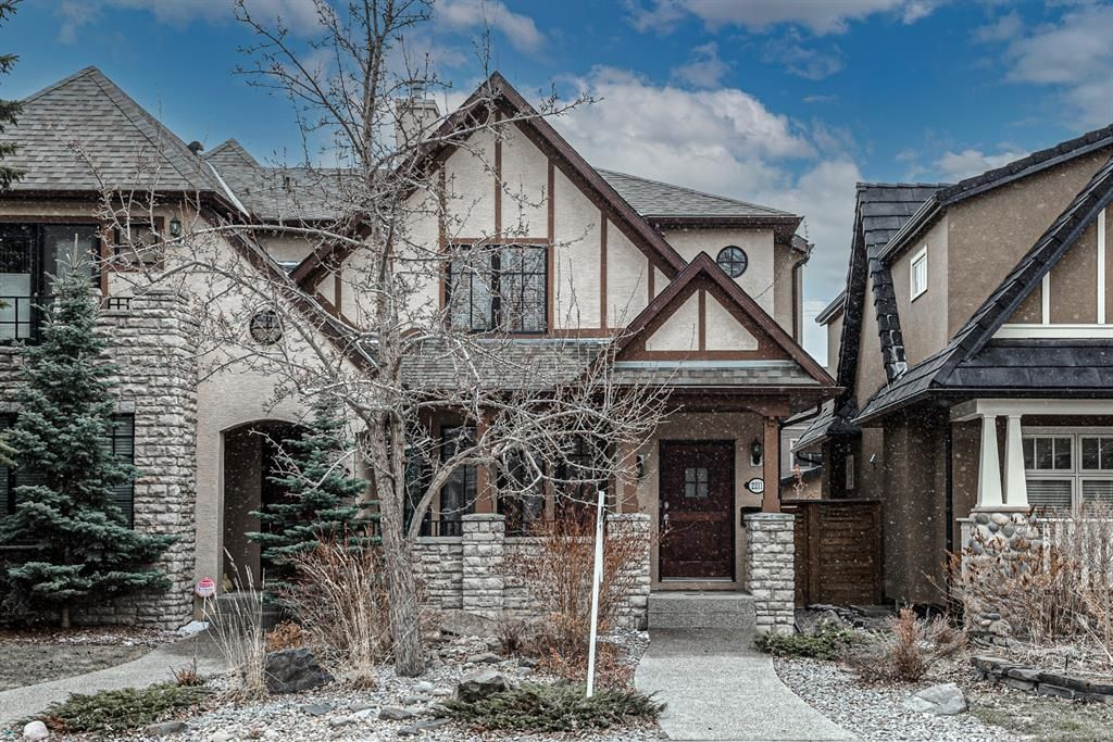 Main Photo: 2211 4 Avenue NW in Calgary: West Hillhurst Semi Detached for sale : MLS®# A1096961