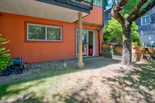 """Photo 30: 107 303 CUMBERLAND Street in New Westminster: Sapperton Townhouse for sale in """"CUMBERLAND COURT"""" : MLS®# R2604826"""