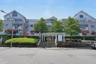 """Photo 1: 202 20268 54 Avenue in Langley: Langley City Condo for sale in """"BRIGHTON PLACE"""" : MLS®# R2164660"""
