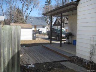 Photo 15: 693 Martin Avenue in WINNIPEG: East Kildonan Residential for sale (North East Winnipeg)  : MLS®# 1507835