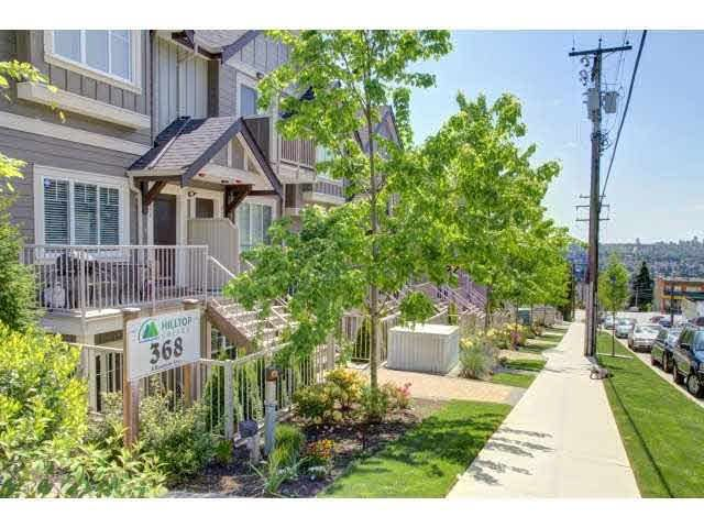 """Main Photo: 110 368 ELLESMERE Avenue in Burnaby: Capitol Hill BN Townhouse for sale in """"HILLTOP GREENE"""" (Burnaby North)  : MLS®# R2184022"""