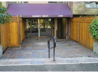 "Photo 1: 119 2190 W 7TH Avenue in Vancouver: Kitsilano Condo for sale in ""SUNSET WEST"" (Vancouver West)  : MLS®# V831443"