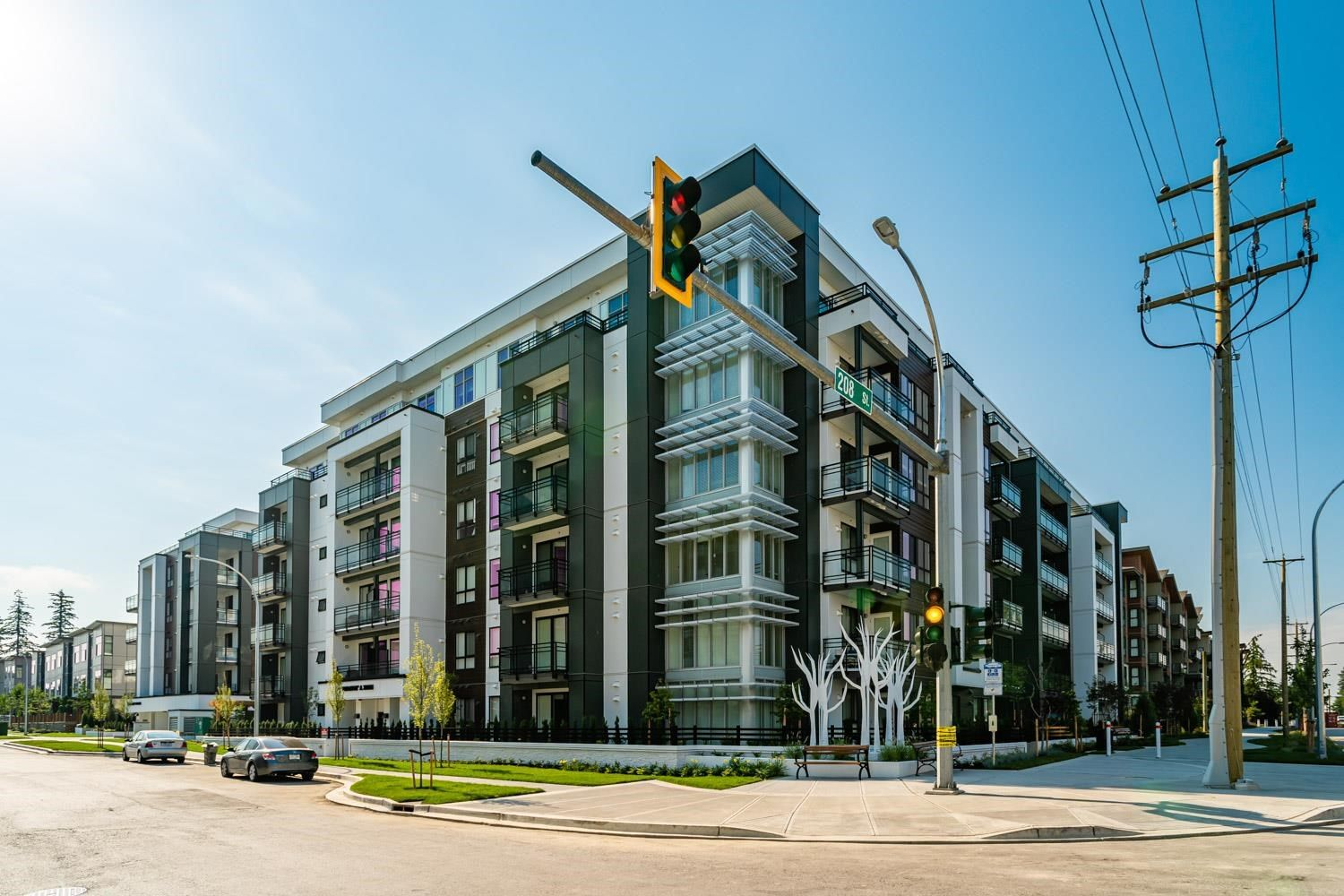 """Main Photo: A604 20838 78B Avenue in Langley: Willoughby Heights Condo for sale in """"Hudson & Singer"""" : MLS®# R2601286"""
