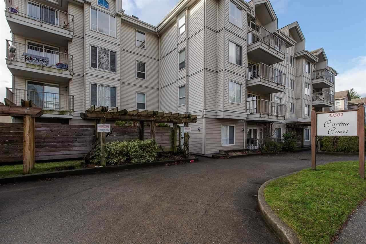 Main Photo: 206 33502 GEORGE FERGUSON WAY in : Central Abbotsford Condo for sale : MLS®# R2245811