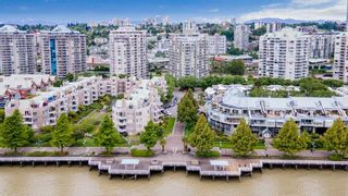 """Photo 1: 105 1135 QUAYSIDE Drive in New Westminster: Quay Condo for sale in """"ANCHOR POINTE"""" : MLS®# R2587882"""