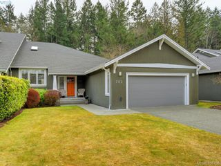 Photo 1: 762 Hill Rise Lane in VICTORIA: SE Cordova Bay Row/Townhouse for sale (Saanich East)  : MLS®# 808277