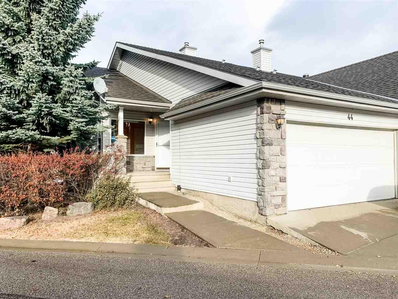 Main Photo: 44 330 Galbraith Close in Edmonton: Zone 58 House Half Duplex for sale : MLS®# E4226186