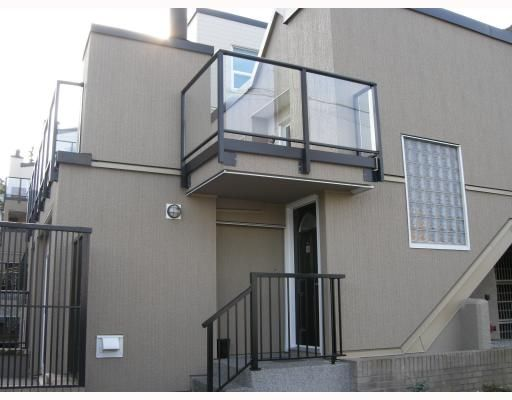 """Main Photo: 10 1350 W 6TH Avenue in Vancouver: Fairview VW Townhouse for sale in """"PEPPER RIDGE"""" (Vancouver West)  : MLS®# V752874"""