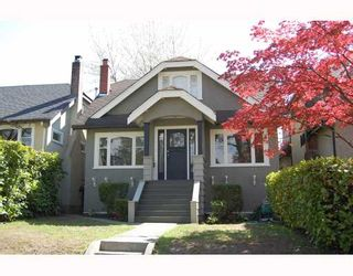 "Photo 1: 366 W 22ND Avenue in Vancouver: Cambie House for sale in ""CAMBIE"" (Vancouver West)  : MLS®# V766783"