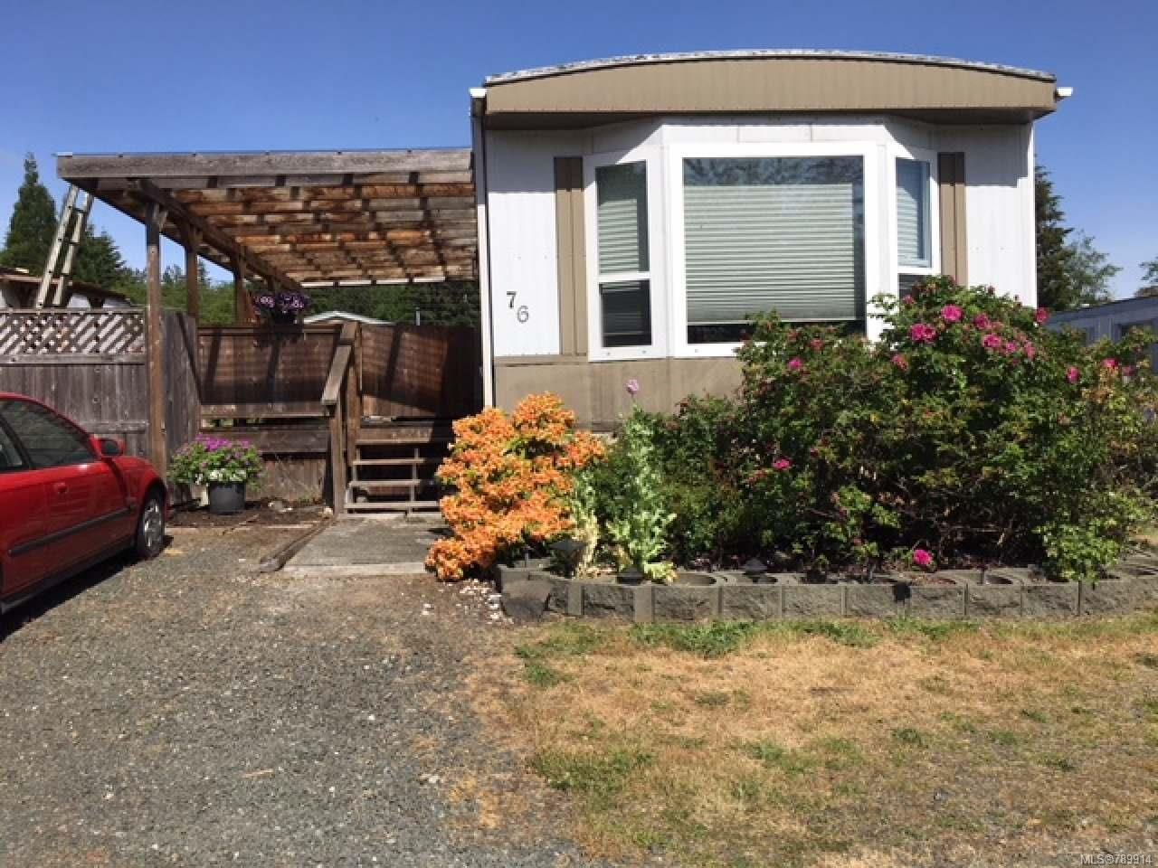 Main Photo: 76 2700 Woodburn Rd in CAMPBELL RIVER: CR Campbell River North Manufactured Home for sale (Campbell River)  : MLS®# 789914