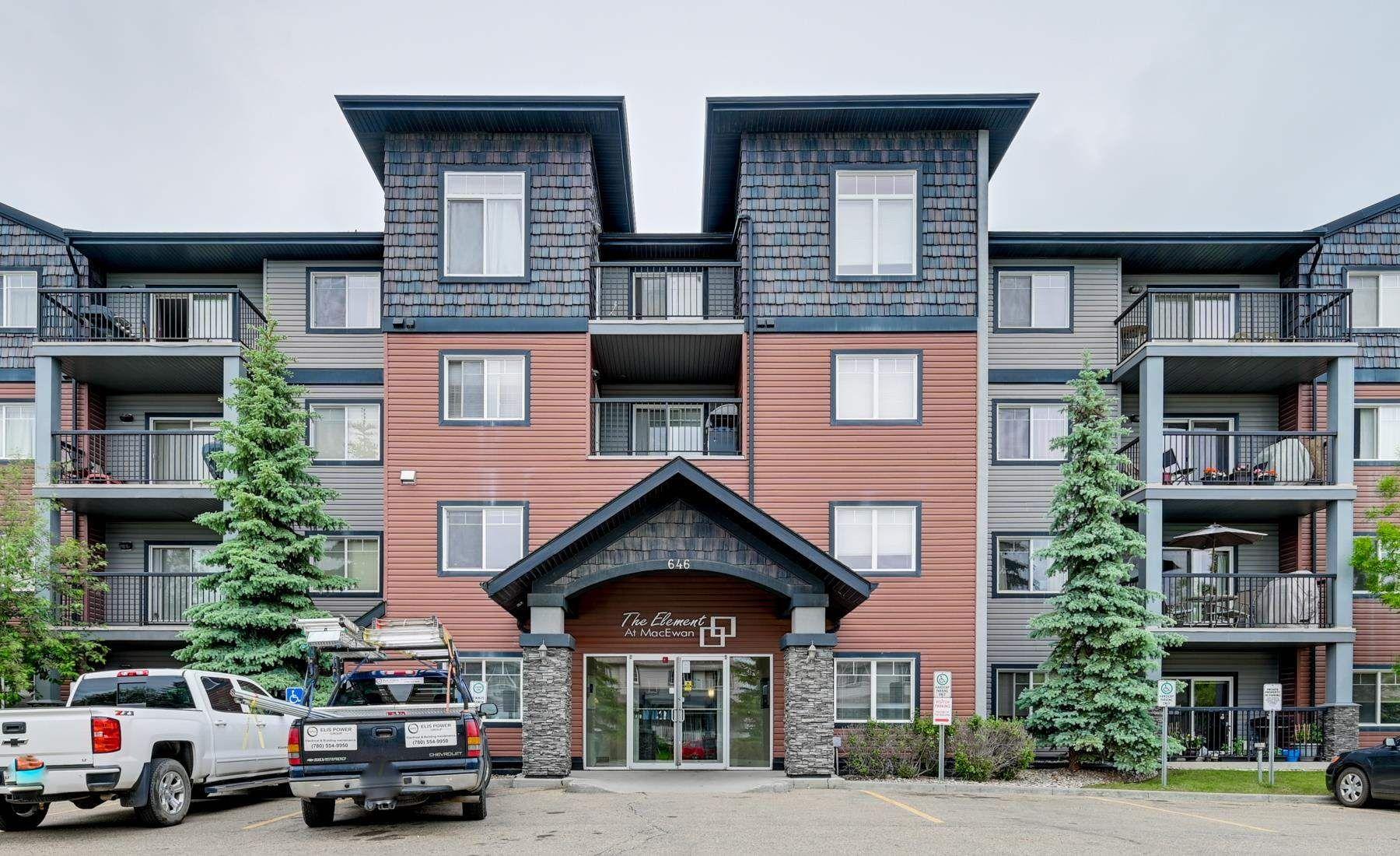 Main Photo: 217 646 MCALLISTER Loop in Edmonton: Zone 55 Condo for sale : MLS®# E4249189