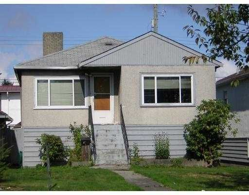 Main Photo: 1621 E 49TH Avenue in VANCOUVER EAST: Knight House for sale (Vancouver East)  : MLS®# V768680