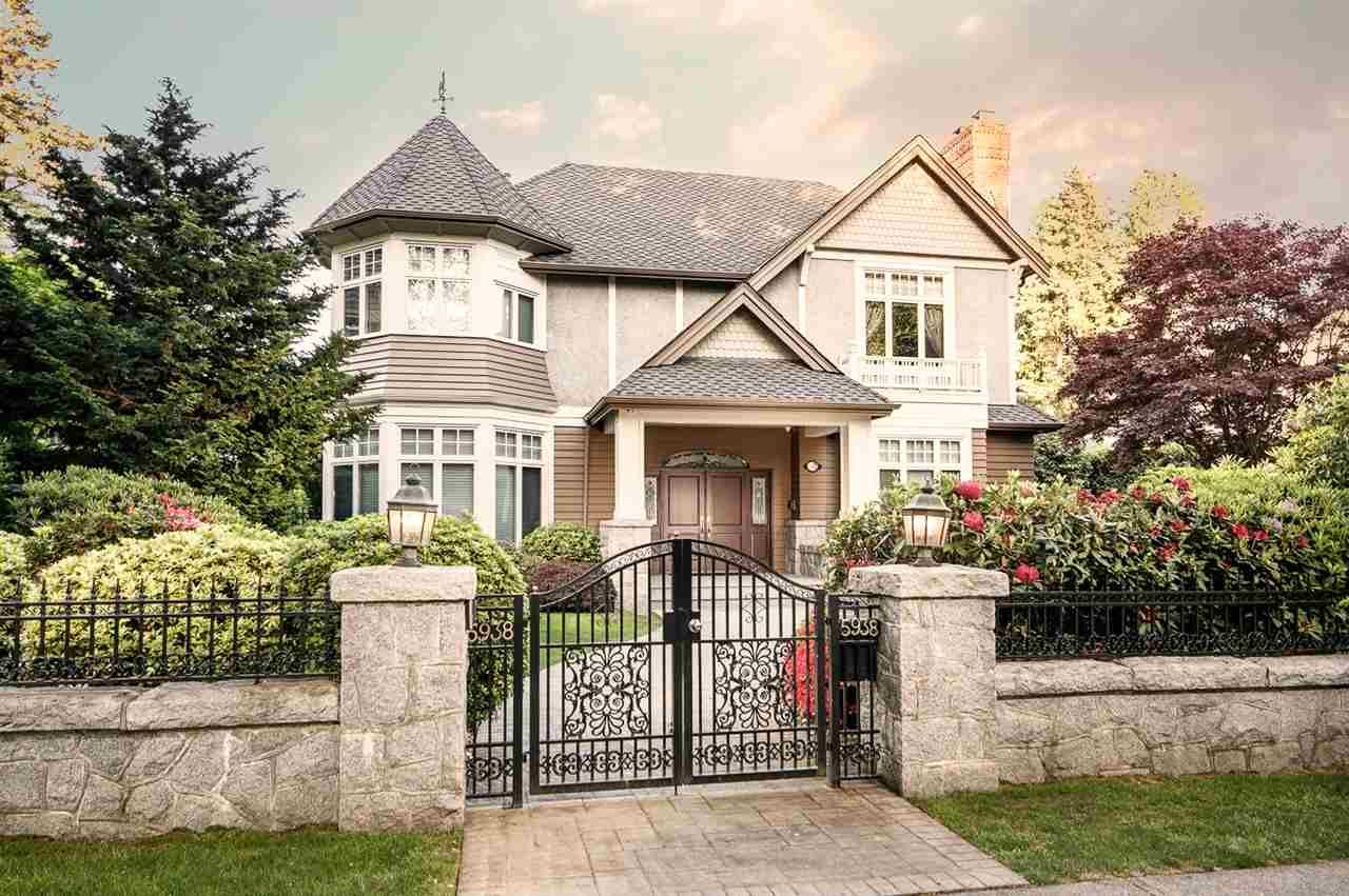 Main Photo: 5938 ADERA Street in Vancouver: South Granville House for sale (Vancouver West)  : MLS®# R2504825