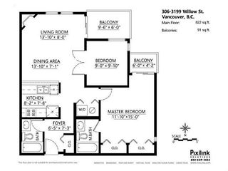 Photo 12: # 305 3199 WILLOW ST in Vancouver: Fairview VW Condo for sale (Vancouver West)  : MLS®# V1084535