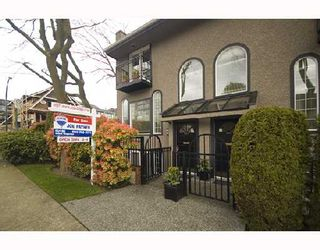 Photo 1: 1593 LARCH Street in Vancouver: Kitsilano Townhouse for sale (Vancouver West)  : MLS®# V701040