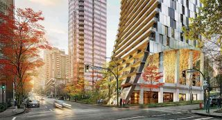 """Main Photo: 3102 1550 ALBERNI Street in Vancouver: West End VW Condo for sale in """"ALBERNI BY KENGO KUMA"""" (Vancouver West)  : MLS®# R2551114"""
