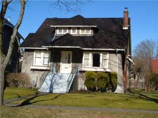 Photo 2: 3859 W 23RD Avenue in Vancouver: Dunbar House for sale (Vancouver West)  : MLS®# V872882