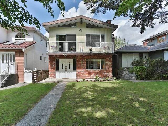 Main Photo: 575 E 46TH AV in Vancouver: Fraser VE House for sale (Vancouver East)  : MLS®# V1080500