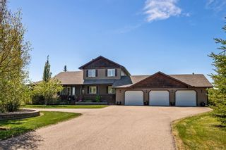 Photo 1: 263103 Butte Hills Way in Rural Rocky View County: Rural Rocky View MD Detached for sale : MLS®# A1115923