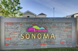 Photo 32: 2101 881 SAGE VALLEY Boulevard NW in Calgary: Sage Hill Row/Townhouse for sale : MLS®# C4305012