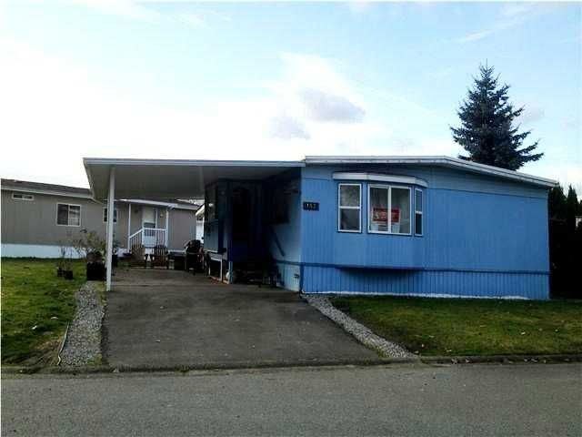"Main Photo: 153 145 KING EDWARD Street in Coquitlam: Maillardville Manufactured Home for sale in ""MILL CREEK VILLAGE"" : MLS®# V1001686"