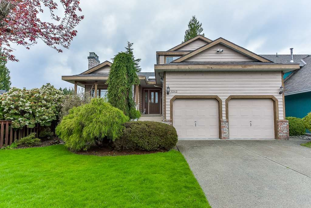 Main Photo: 1242 NUGGET STREET in Port Coquitlam: Citadel PQ House for sale : MLS®# R2358499