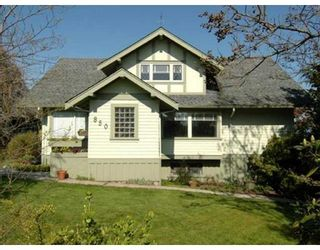 Photo 1: 850 HENDRY AV in North Vancouver: House for sale : MLS®# V884549