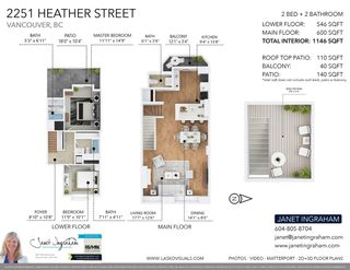 """Photo 37: 2251 HEATHER Street in Vancouver: Fairview VW Townhouse for sale in """"THE FOUNTAINS"""" (Vancouver West)  : MLS®# R2593764"""