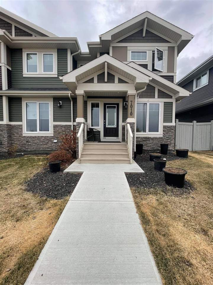 Main Photo: 7010 NEWSON Road in Edmonton: Zone 27 Attached Home for sale : MLS®# E4228567