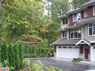 Photo 1: 73 3009 156TH Street in Surrey: Grandview Surrey Condo for sale (South Surrey White Rock)  : MLS®# F1225648