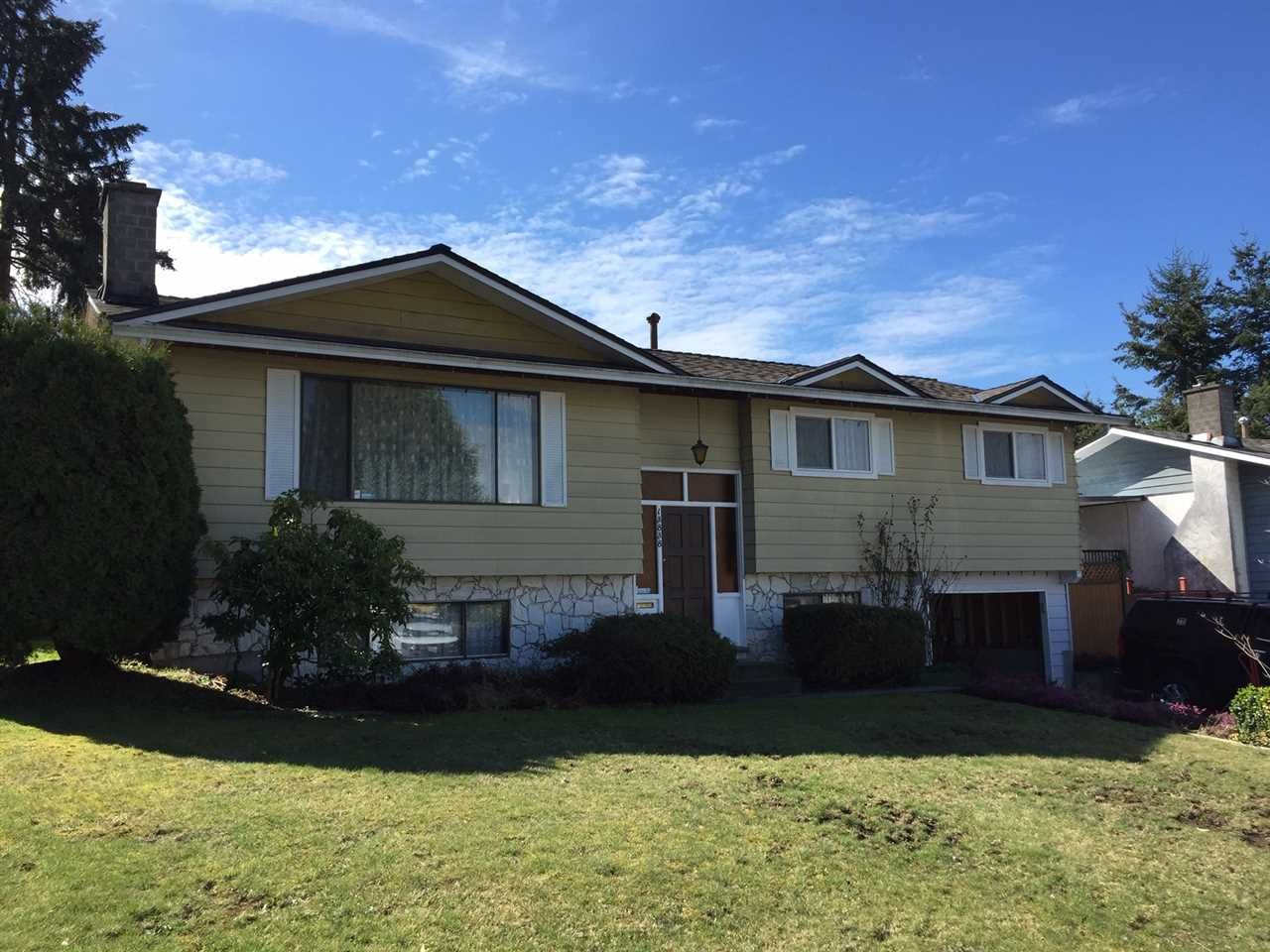 Main Photo: 13838 112A Avenue in Surrey: Bolivar Heights House for sale (North Surrey)  : MLS®# R2353201