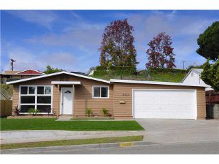 Photo 1: SAN DIEGO House for sale : 4 bedrooms : 3626 Fireway Drive