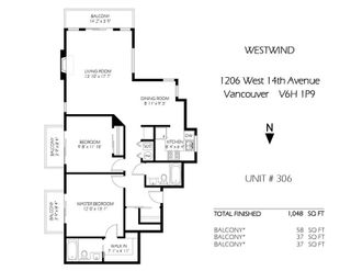Photo 1: 306 1206 W 14 Avenue in Vancouver: Fairview VW Condo for sale (Vancouver West)  : MLS®# R2559565
