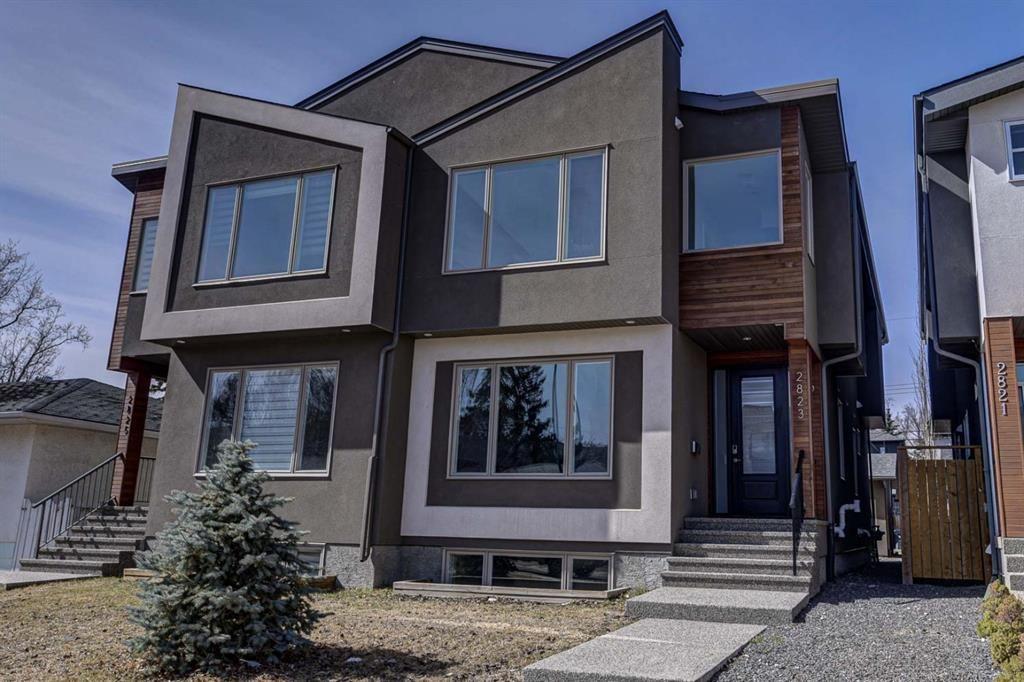 Main Photo: 2823 25A Street SW in Calgary: Killarney/Glengarry Semi Detached for sale : MLS®# A1089747