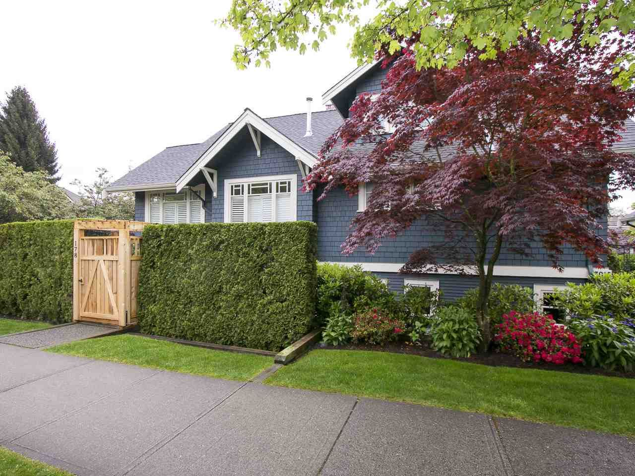 Main Photo: 178 W 14TH Avenue in Vancouver: Mount Pleasant VW Townhouse for sale (Vancouver West)  : MLS®# R2061246