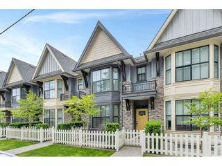 """Photo 1: 20 33460 LYNN Avenue in Abbotsford: Central Abbotsford Townhouse for sale in """"ASTON ROW"""" : MLS®# R2589433"""