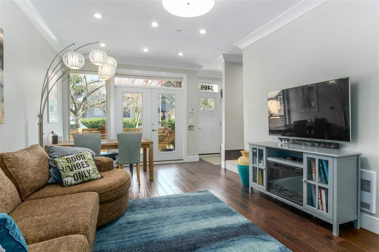 Photo 3: Photos: 3495 INVERNESS STREET in Vancouver: Knight Townhouse for sale (Vancouver East)  : MLS®# R2446835