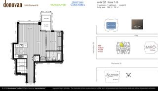 Photo 8: 1802 1055 Richards in The Donovan: Yaletown Home for sale ()