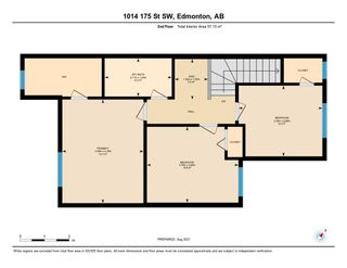 Photo 33: 1014 175 Street in Edmonton: Zone 56 Attached Home for sale : MLS®# E4257234