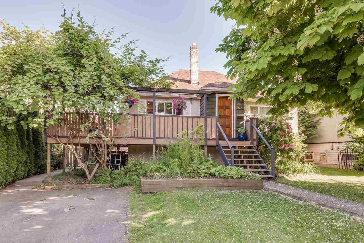 Main Photo: 310 NINTH Avenue in New Westminster: GlenBrooke North House for sale : MLS®# R2271565