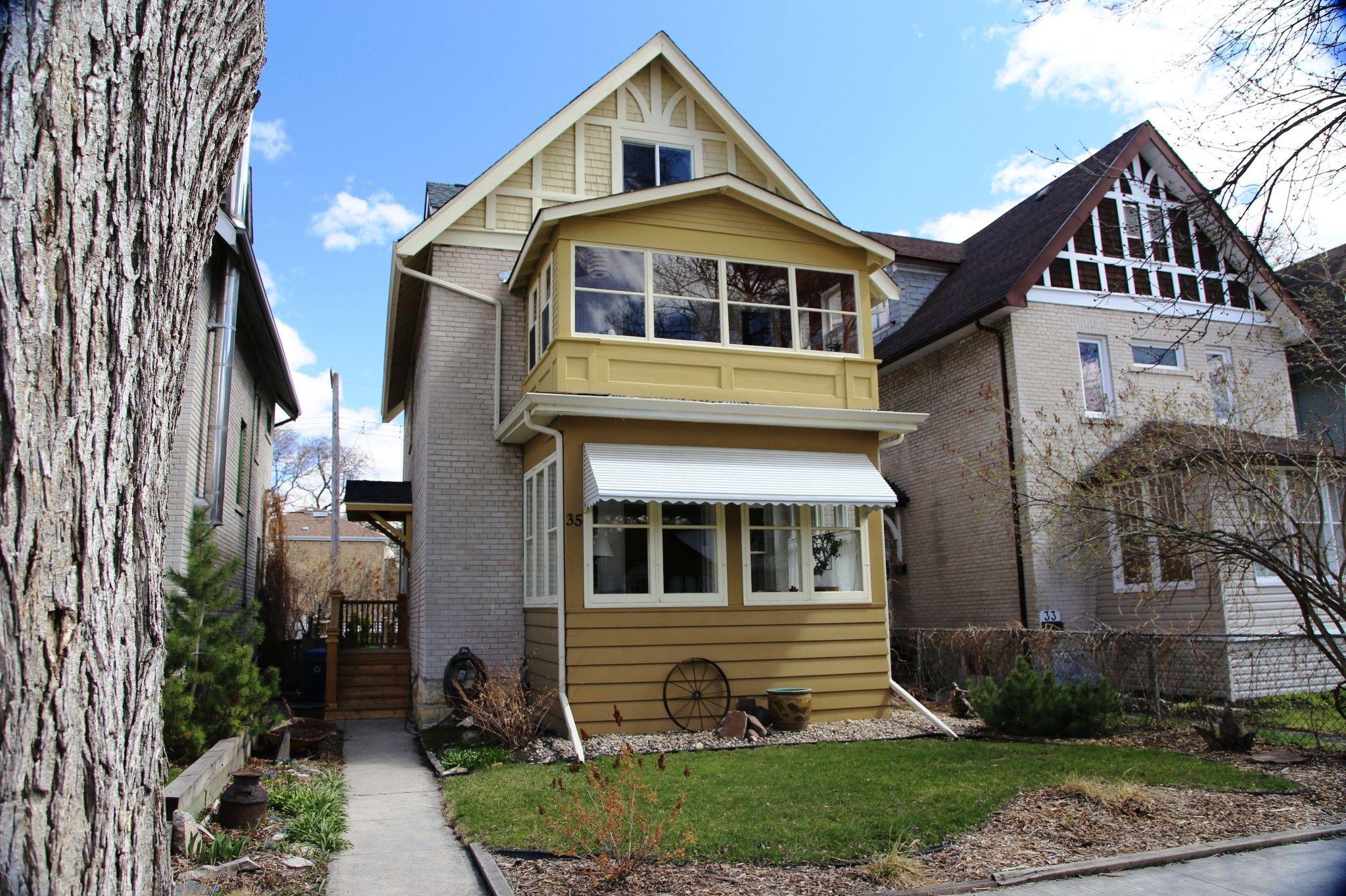 Photo 2: Photos: 35 Lipton Street in Winnipeg: Wolseley Single Family Detached for sale (5B)  : MLS®# 202110486