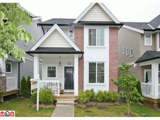 """Photo 1: 6760 193B Street in Surrey: Clayton House for sale in """"GRAMERCY PARK"""" (Cloverdale)  : MLS®# F1017960"""