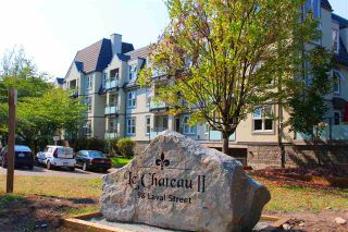 "Photo 1: 212 98 LAVAL Street in Coquitlam: Maillardville Condo for sale in ""LE CHATEAU II"" : MLS®# R2300921"