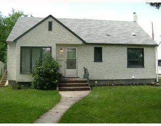 Photo 1: 320 SACKVILLE Street in WINNIPEG: St James Residential for sale (West Winnipeg)  : MLS®# 2913994