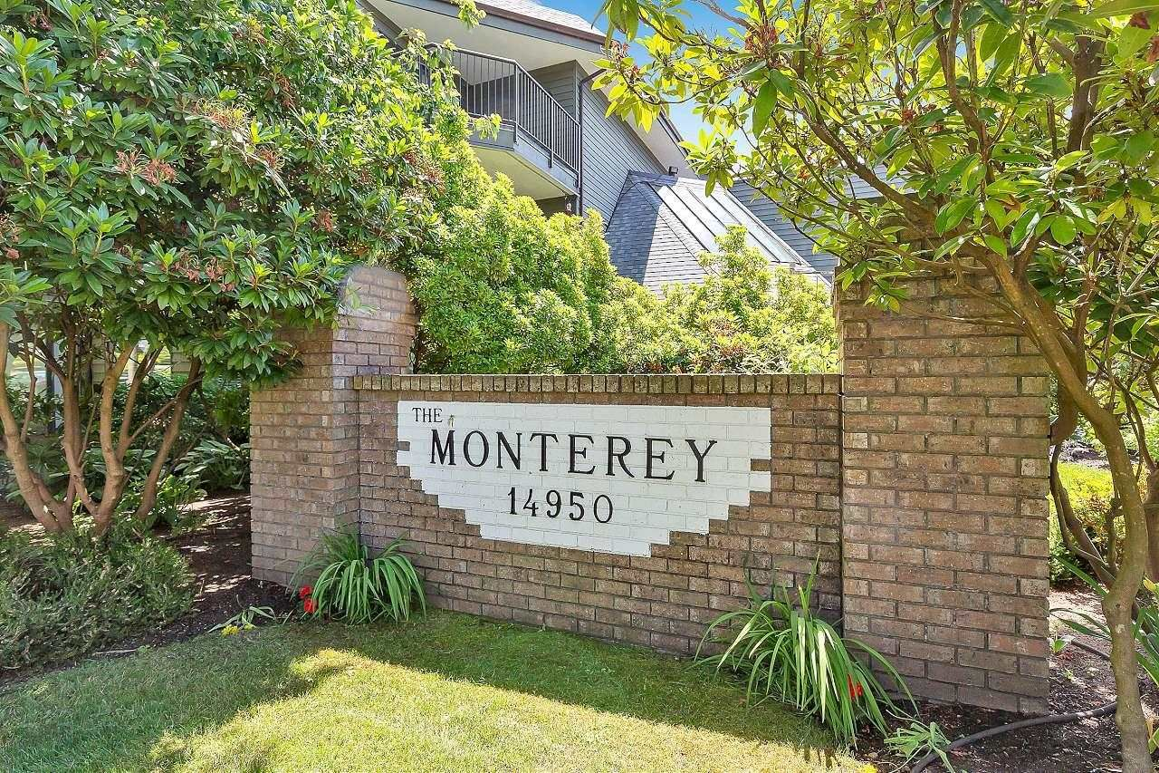 """Main Photo: 303 14950 THRIFT Avenue: White Rock Condo for sale in """"THE MONTEREY"""" (South Surrey White Rock)  : MLS®# R2598221"""