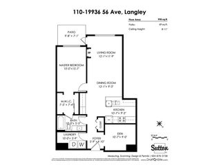 "Photo 16: 110 19936 56 Avenue in Langley: Langley City Condo for sale in ""BEARING POINTE"" : MLS®# R2399040"